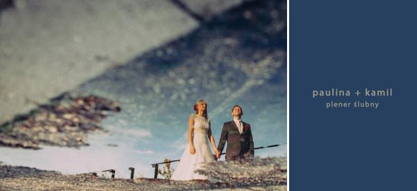 Plener ślubny na Księżym Młynie