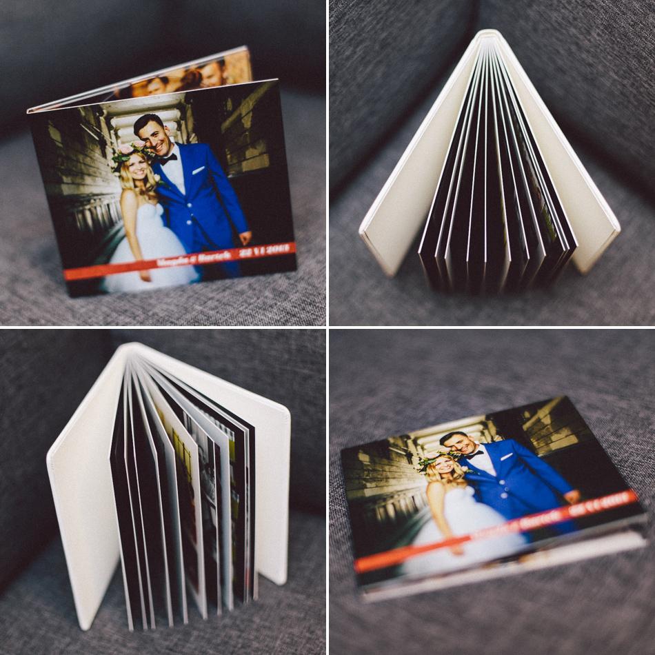 Elegancki fotoalbum slubny i ciekawie zaprojektowane okładki ślubne na DVD