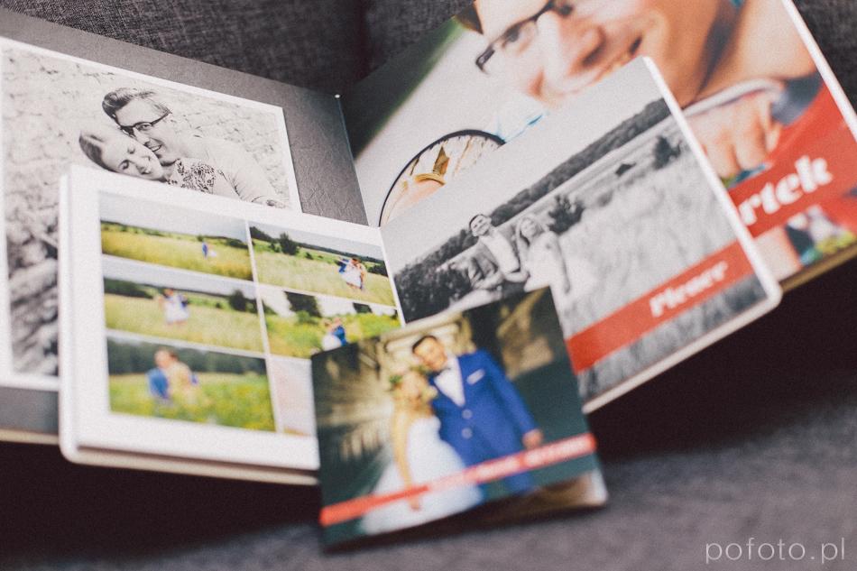 oapkowanie DVD, fotoalbum 20x20cm i fotoalbum ślubny 30x30cm czyli część pakietu ślubnego pofoto
