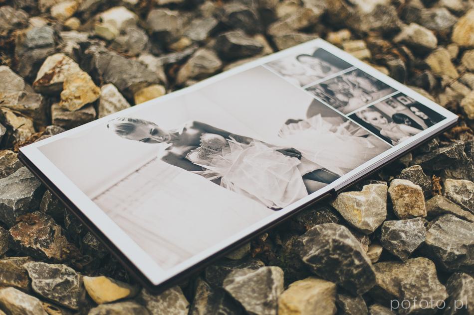 album ślubny Joanny i Tomka, rozkładówka 1