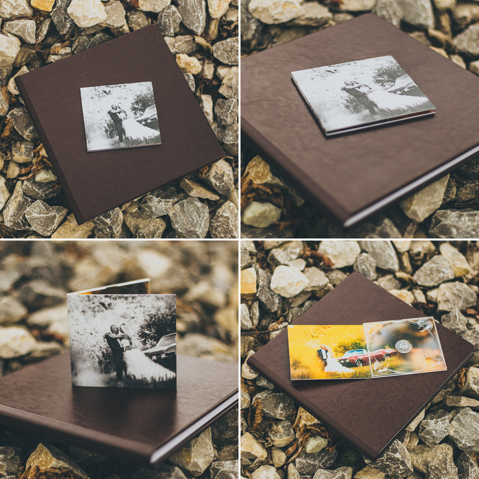 Album ślubny ecoskóra + okładka DVD