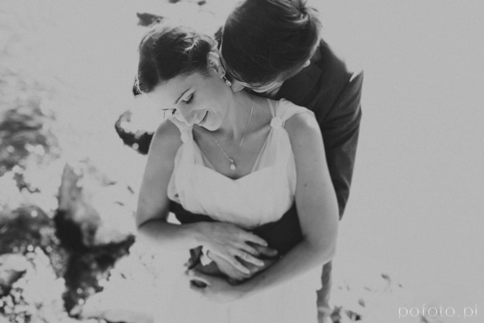 plener ślubny łask młoda para