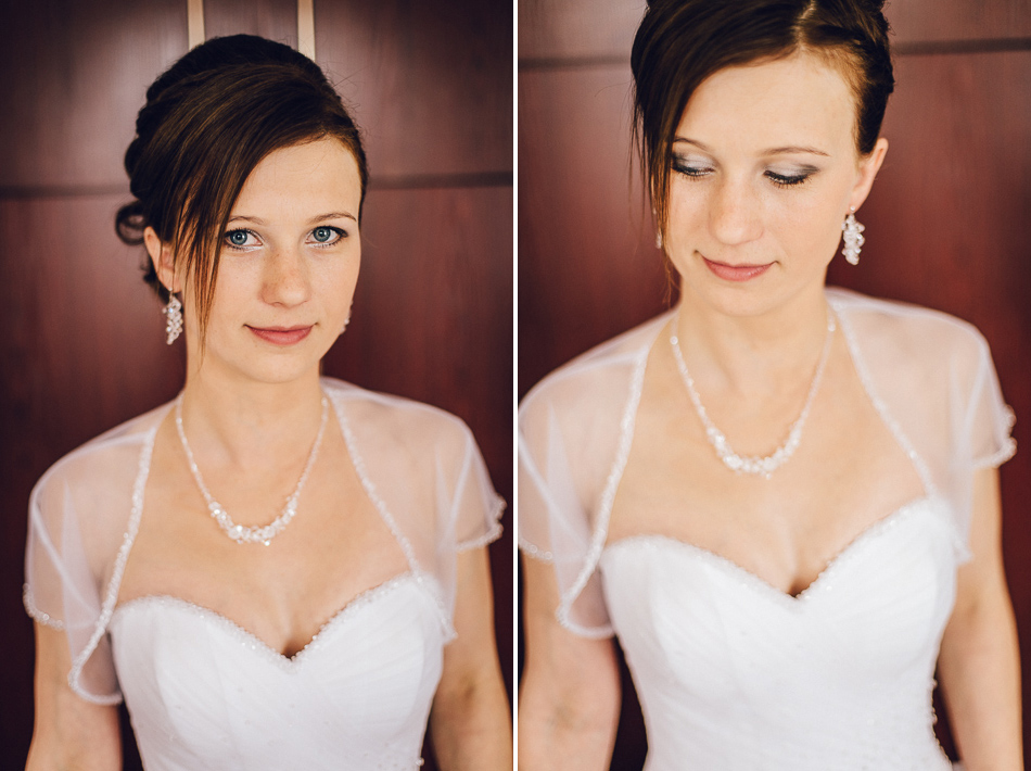 reportaż ślubny portret panny młodej