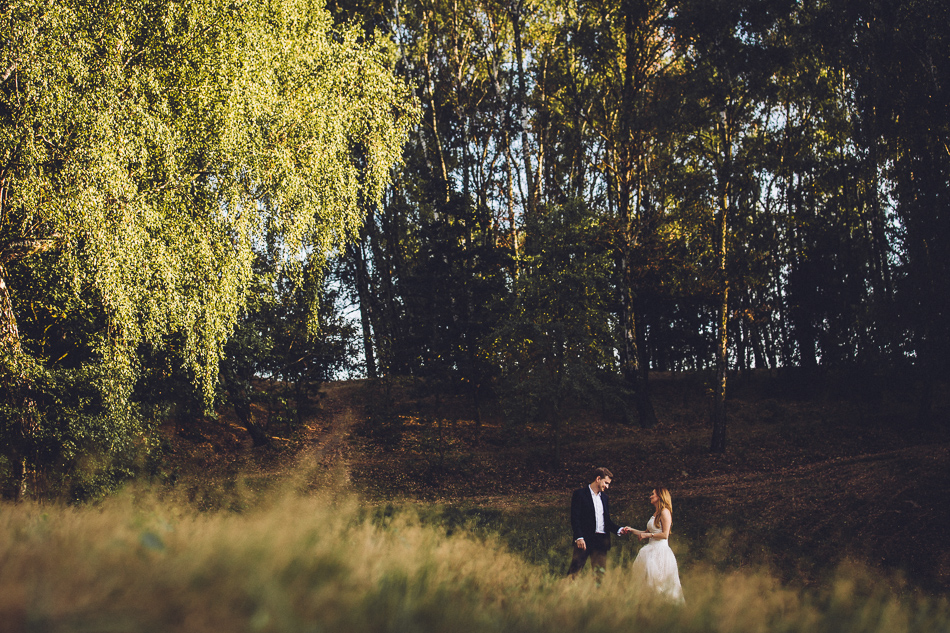 para młoda plener ślubny