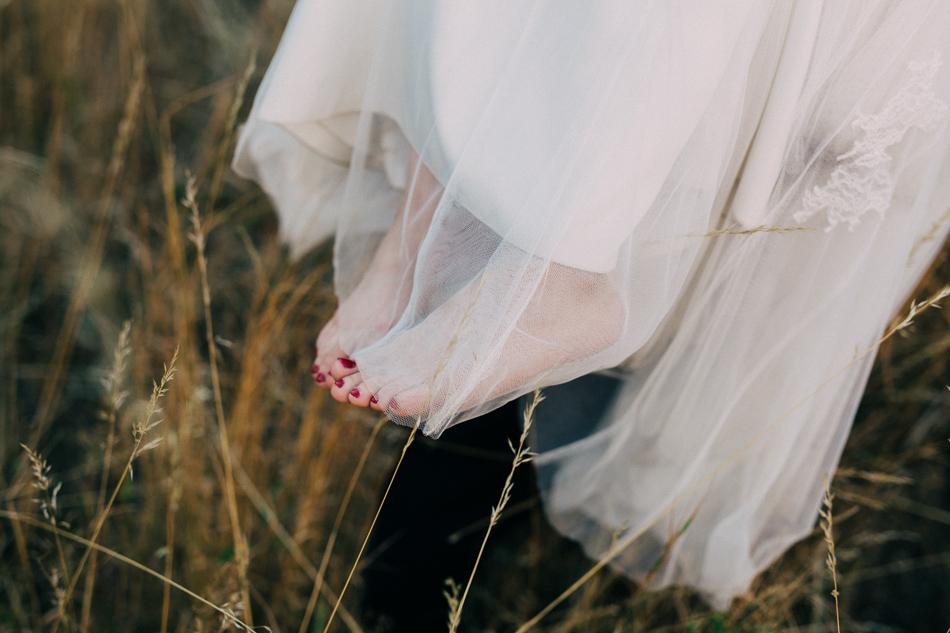 stopy panny młodej