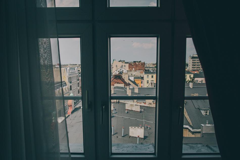 lodz z okien hotelu grand